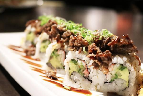 Half off Sushi Rolls