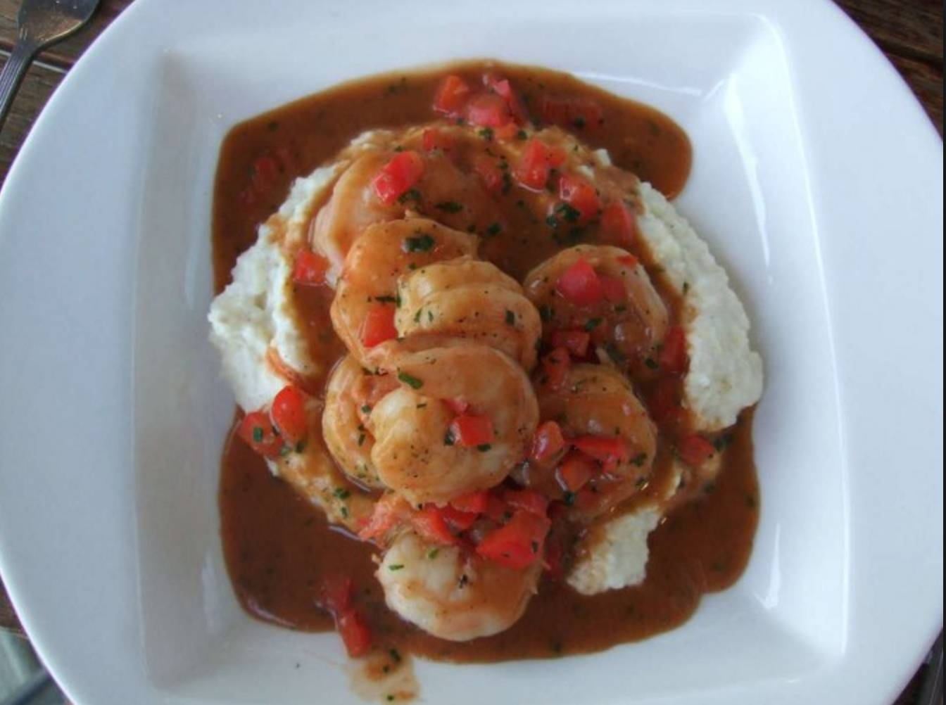 Friday Lunch Special: Shrimp & Grits