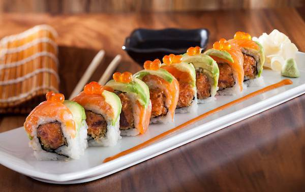 3 for $10 Sushi Lunch Special