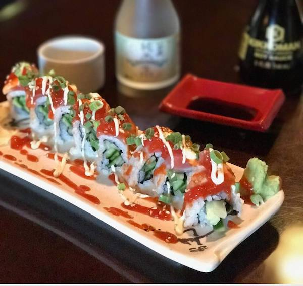 3 rolls of select sushi for $10
