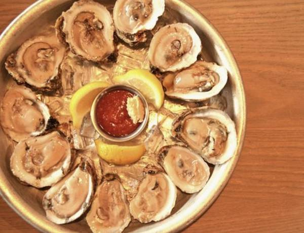 Half off oysters & Drink Specials