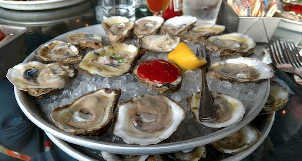 1/2 Off Oyster Day & Happy Hour (2-6)