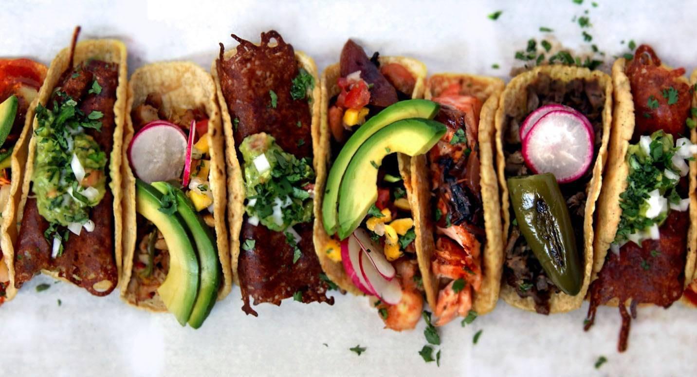 Fish, Shrimp & Korean Tacos-$9.99