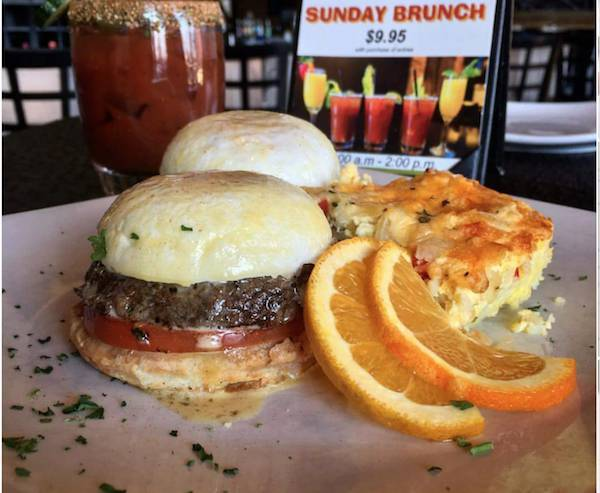 Brunch til 2:30 & Happy Hour (4-6:30)