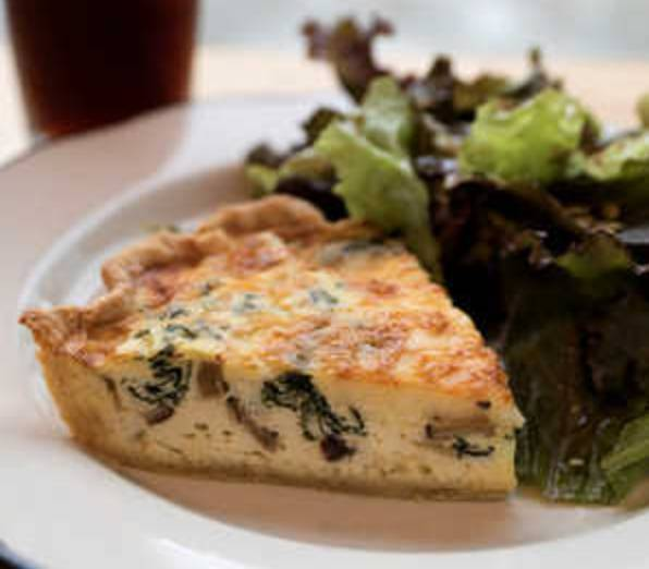 Wednesday Lunch Special: Quiche