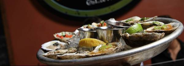 Half off oysters, Drink & App Specials