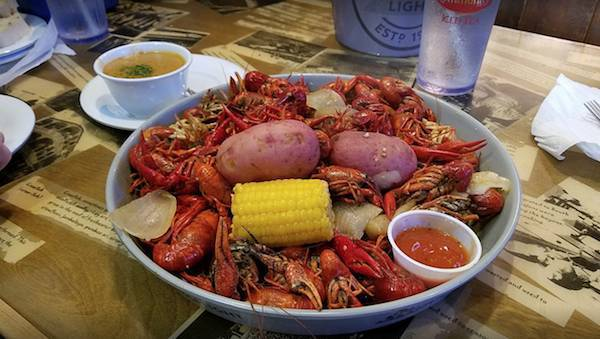 All You Can Eat Crawfish Day