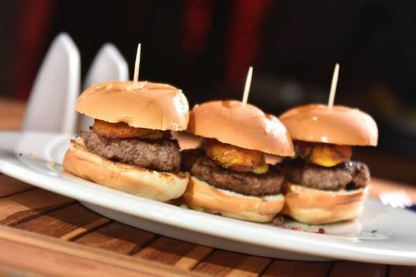 $1 Mini Burgers & Live DJ