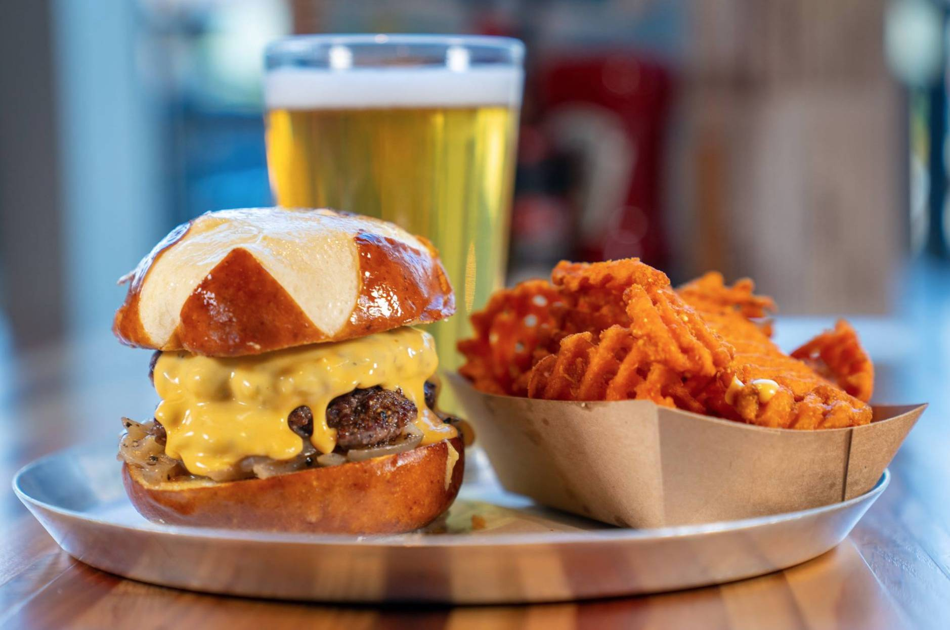 M.L. Rose Craft Beer & Burgers - Capitol View