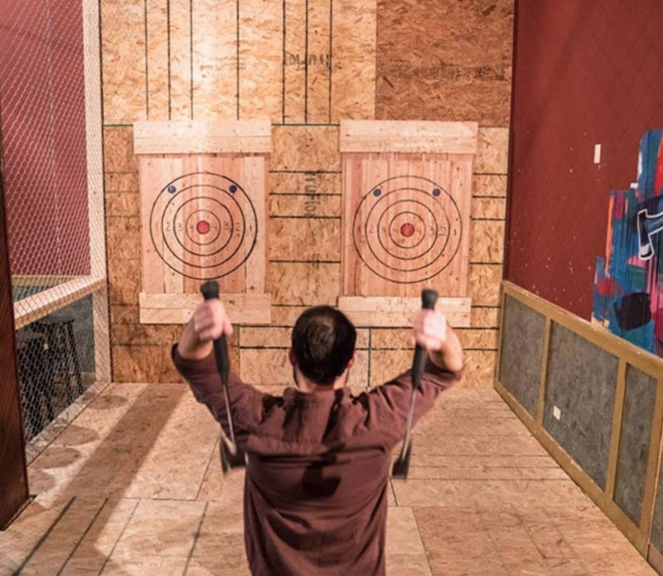 Rockaxe City Axe Throwing Club