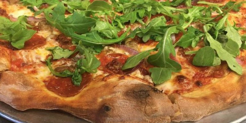 Earth & Stone Wood Fired Pizza (Campus 805)