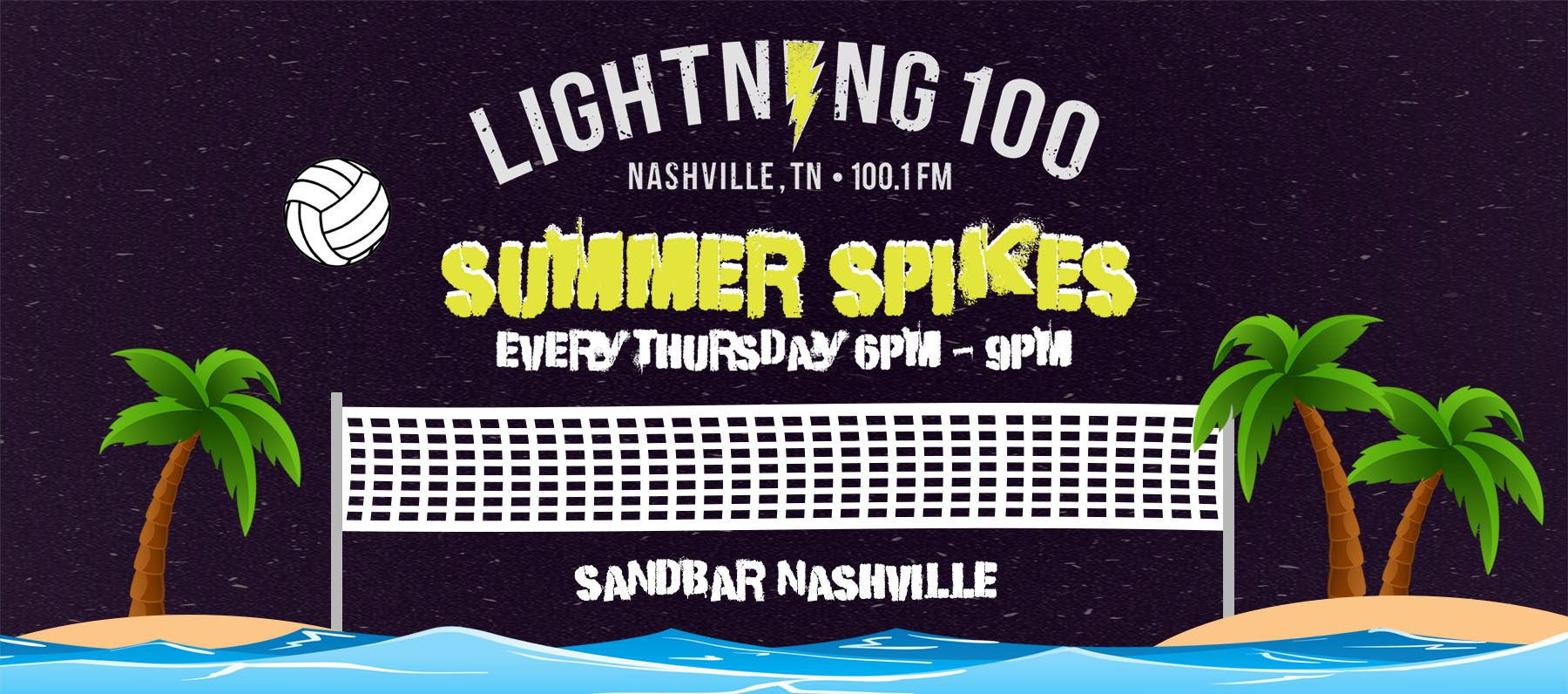 Lightning 100 Summer Spikes