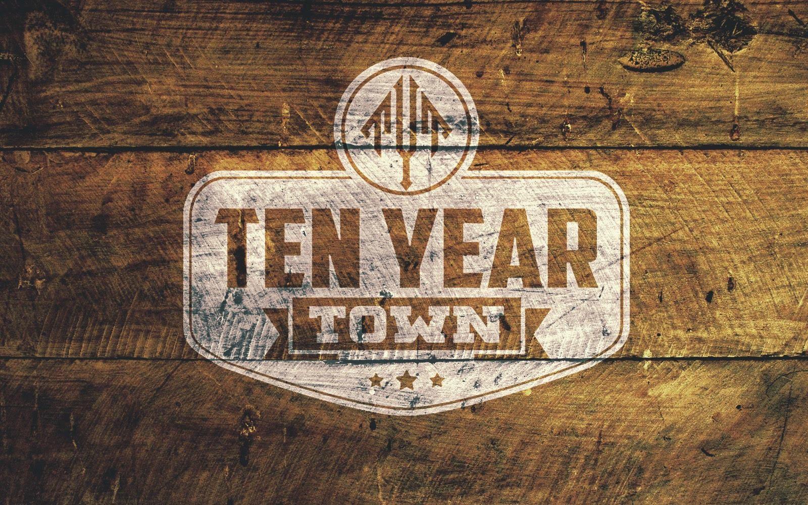 Ten Year Town at Scoreboard
