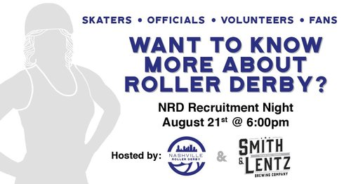 Nashville Roller Derby Recruitment Night
