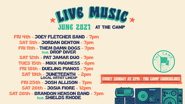 Live Performance by Josh Allison @TheCamp!