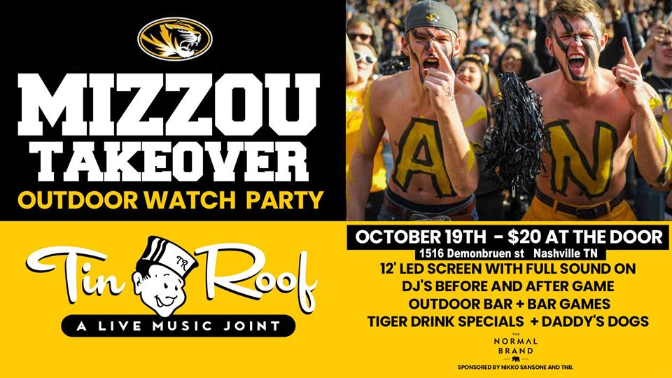 Mizzou Takeover Outdoor Watch Party