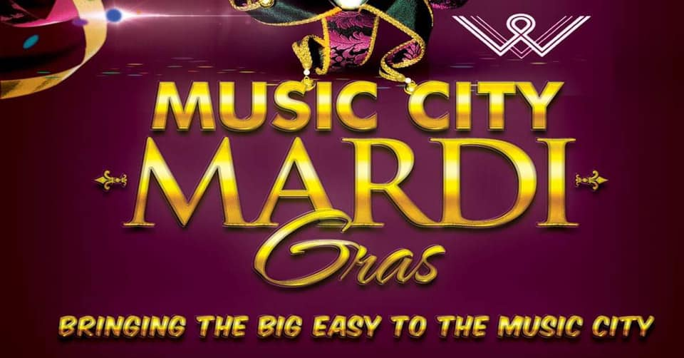 Music City Mardi Gras at Woolworth on 5th